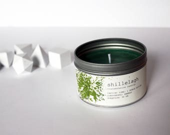 Shillelagh Spell Candle