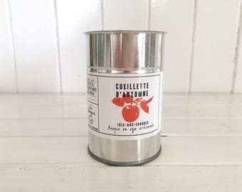 Handcrafted Soy Candle / autumn collection