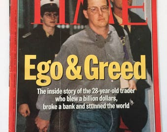 Time magazine, 13 March 1995.  Ego and Greed.