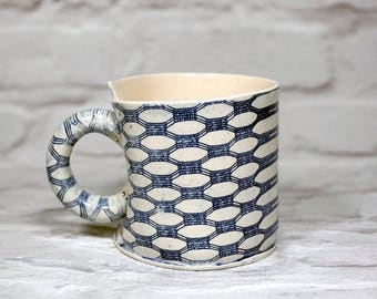 Gothic Dot Coffee Cup
