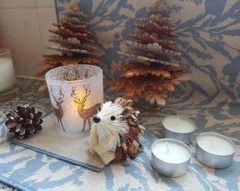 Reindeer tea light holder (+3 tea lights)