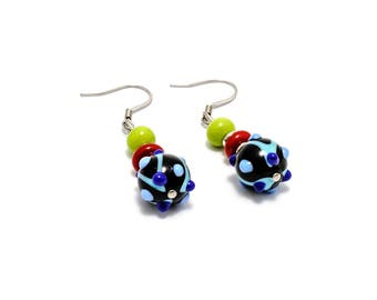 MINIMARAKESH - Murano Glass, Hand-Made Earrings