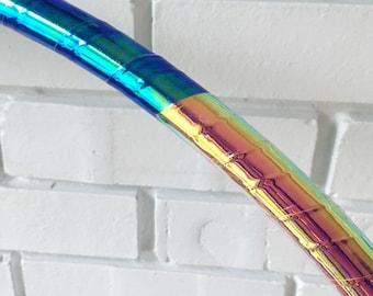 2-Toned Reflective Polypro Hoop