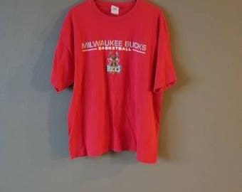 Milwaukee Bucks NBA T Shirt.