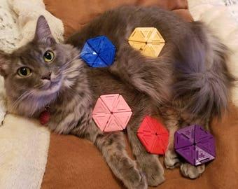 Hexaflexagon || Fidget Toy || 3D Printed || Desk Toy || Office Toy || Gift || Math