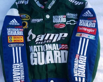 Nascar Chase Authentics  Dale Earnhardt Jr Authentic Jacket For Toddler size xs