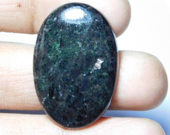 A++++ quality Nuummite Gemstone Top Quality handmade Cabochons 100%Natural Beautiful Loose stone 31.60Cts.(33x22x4)mm