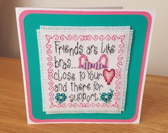 Cross Stitch Card