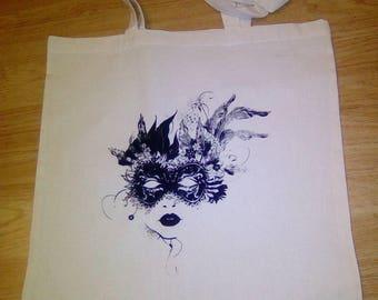 Mask canvas bag