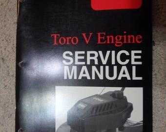 toro V engine service manual