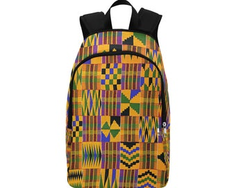 Kente Custom Fabric Backpack