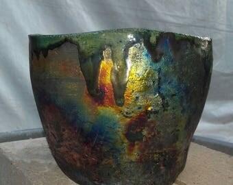 "Vase Coppermatt Line ""Africa"""