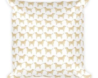 Labrador Retriever Square Pillow