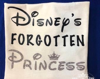 Disney's Forgotten Princess - Disney Shirt - Women's Disney Shirt - Princess Shirt