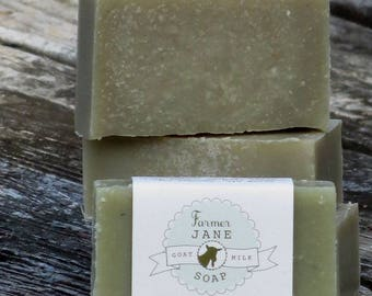 Tea Tree Mint Goat Milk Soap