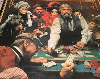 Kenny Rogers The Gambler Vintage Vinyl Record LP