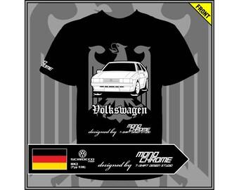 T-shirt Volkswagen Scirocco GTX MK2 (Typ 53B)