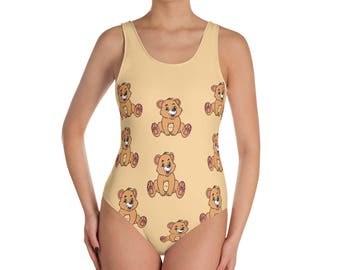 Bear One-Piece Swimsuit