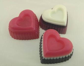 Love Trio Heart Soap
