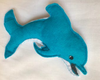 Tooth pillow - dolphin