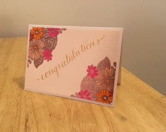 Congratulations Notecard