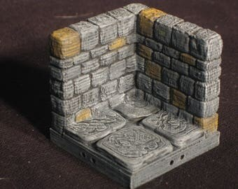 Dungeon Stone 2x2 Corner Tile (OpenForge 2.0)