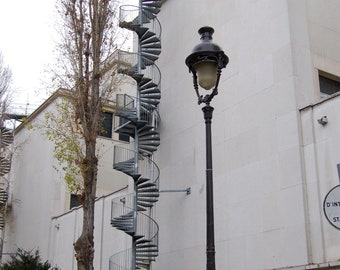 Stairway in Paris