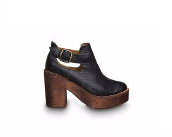 Adele Black Ankle Boot