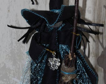 Howardian Hag hanging witch ornament