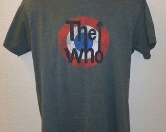 The Who Band T Shirt retro Large