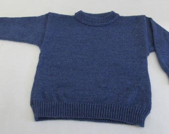 Jeans Blue Knitted Sweater