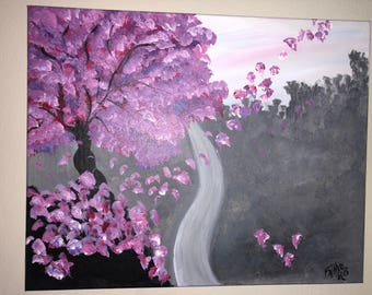 "Painting Cherry Blossom ""Female Transformation"""