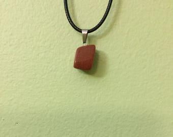 Red Goldstone Healing Pendant