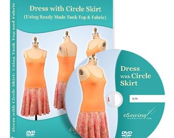 Dress with Circle Skirt Video Lesson on DVD