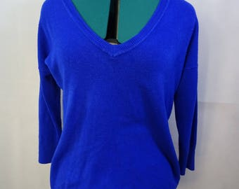 Royal Blue sweater top