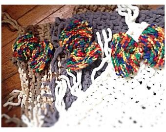 Knit Microfibre Baby Stroller Blanket/ Swaddling Blanket