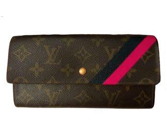 "Louis Vuitton Custom ""mon monogram"" lines"