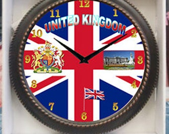 United Kingdom Clock Decor wall Clock