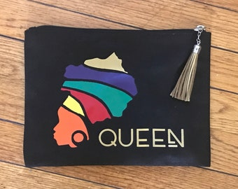 Afro Queen Weekend Pouch