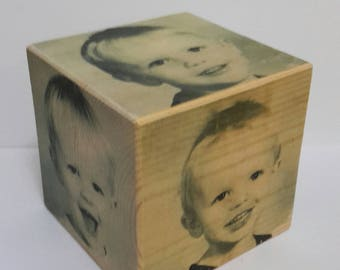 Photos on Wood,photos on Cube,Keepsake,Birthday Gift ,Gift For Her,Gift For Him,Birthday,Mothers dayGift,Fathers day gift