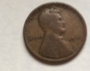 1911 Wheat back Penny