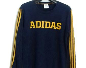 Rare!!vintage..adidas sweatshirt crewneck jumper big logo medium size