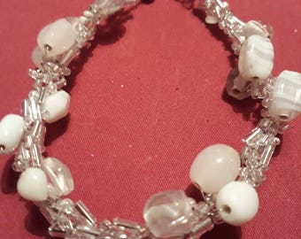 Handmade bridal bracelet