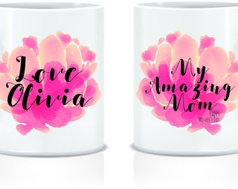 Personalised Double Sided Mothers Day Mug