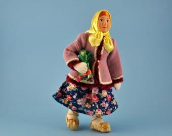 """Russian doll """"a girl with a toy"""""""