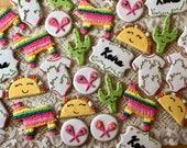 Fiesta Baby Shower Cookies