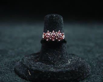 Garnet Ring 925