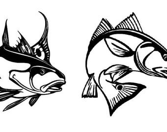 Redfish Vinyl Decal