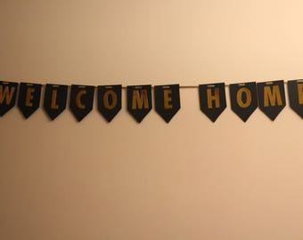 Welcome Home Banner, Military Home Coming, Housewarming Banner, Welcome Home Sign, Welcome Home Military.