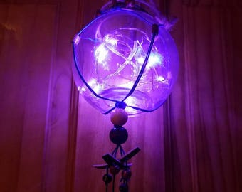 Jelly Fish Dream Catcher Light